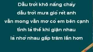 Mua Sao Bang Karaoke - Ngô Kiến Huy - CaoCuongPro
