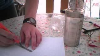 une méthode simple et peu couteuse pour découper de l'alu (découpe électrochimique)