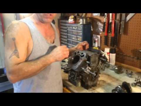 Honing a cylinder, 25 HP Kawasaki FH721V