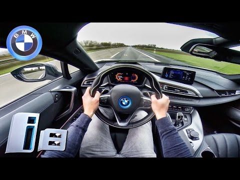 BMW I8 TOP SPEED & ACCELERATION POV Sound On AUTOBAHN By AutoTopNL