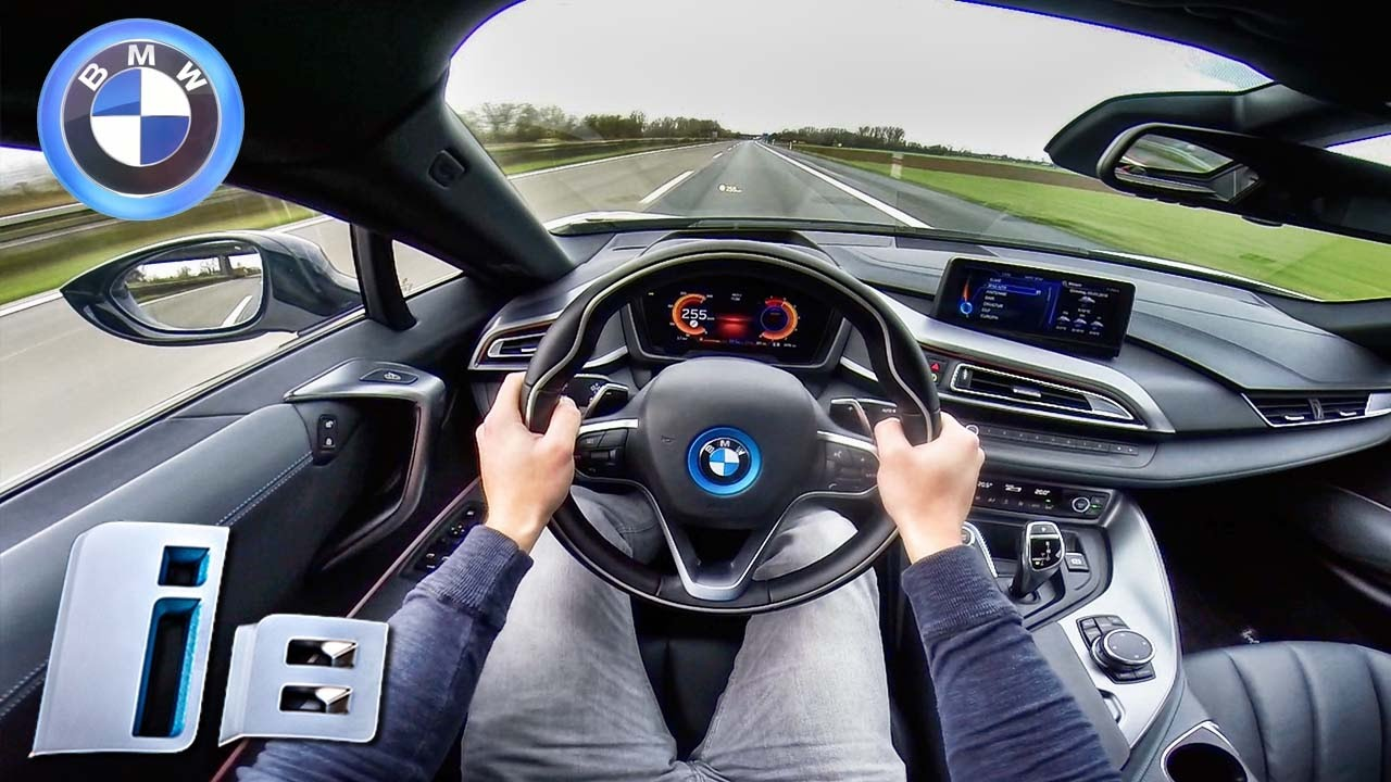 Bmw I8 Top Speed >> BMW i8 TOP SPEED & ACCELERATION POV Sound on AUTOBAHN by AutoTopNL - YouTube