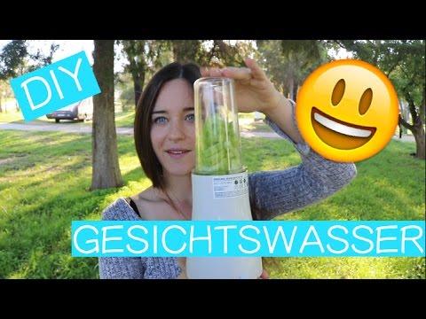 DIY Gesichtswasser aus Gurken 😃 Einfach, schnell, preiswert, gesund und plastikfrei!👍🏽