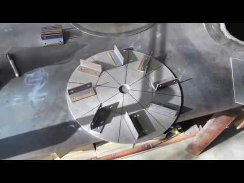 Building a heavy duty centrifugal blower Homemade