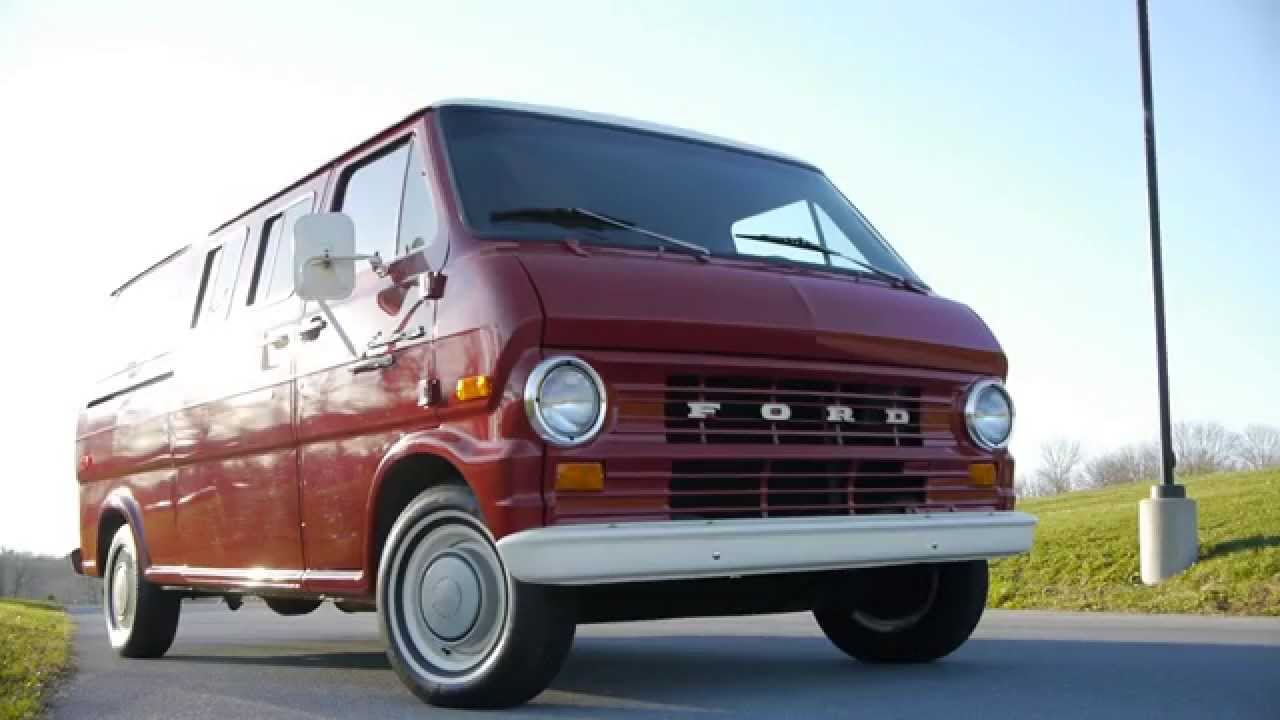 1974 Ford Econoline Van - YouTube