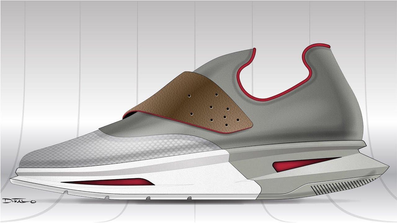 Sneak Peek: Shoe Render in Adobe Illustrator