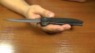 Нож Emerson GENTLEMAN JIM. Джентльменский боевой складной нож.