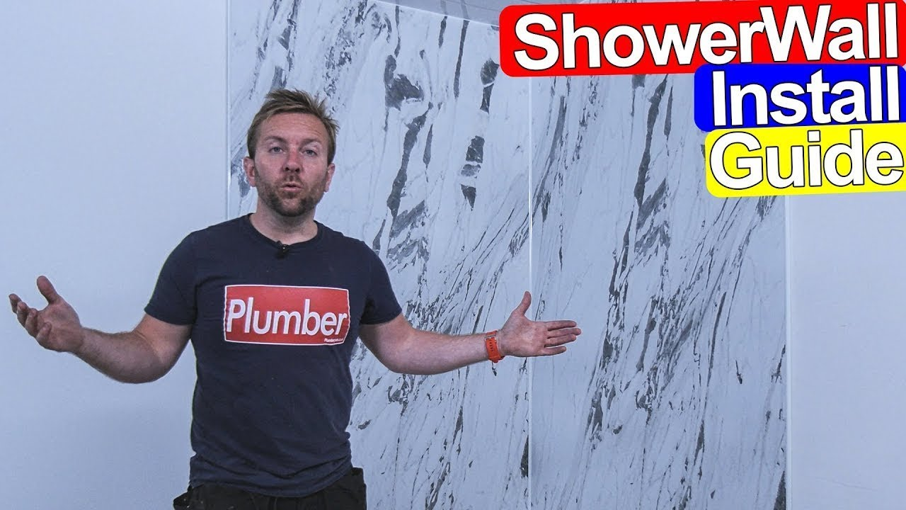 how to fit shower wall board install guide tile alternative