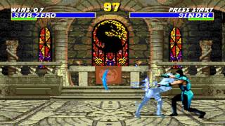 Ultimate Mortal Kombat 3 Classic Sub Zero