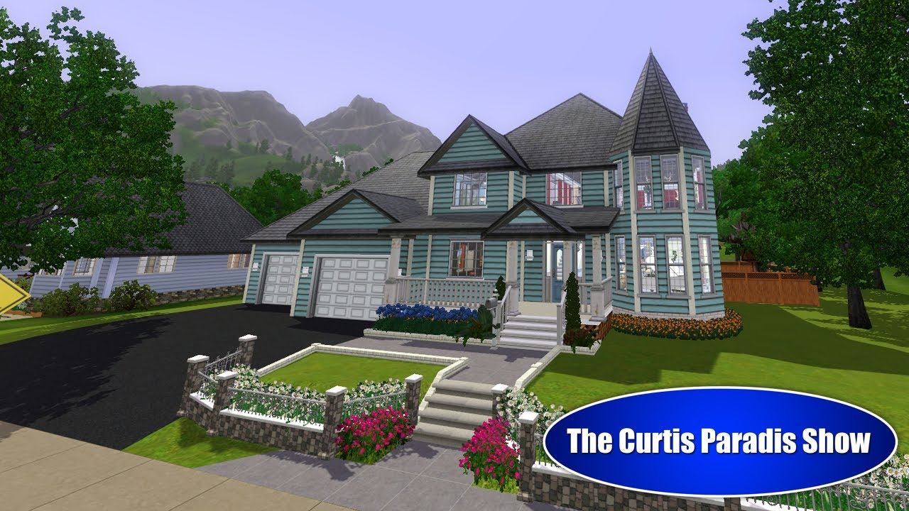 The sims 3 building a victorian classic youtube for Building a victorian house