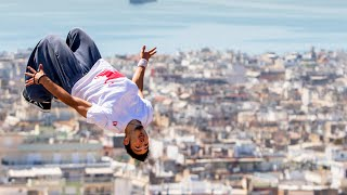 Dimitris Kyrsanidis Freerunning in Athens | 360° video thumbnail