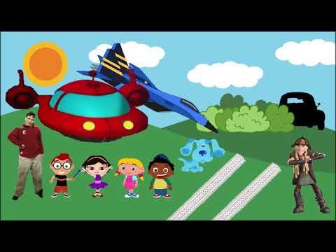 Little Einsteins Blues Clues thinking time from Noah's Big Mystery