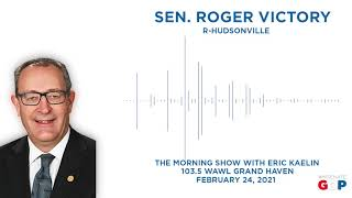 Sen. Victory joins Mornings with Eric Kaelin on 103.5 FM WAWL