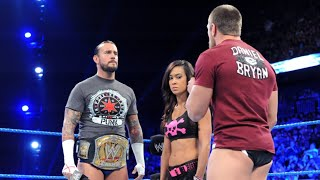 Michael Cole questions AJ about her actions on Raw - SmackDown July 3 2012
