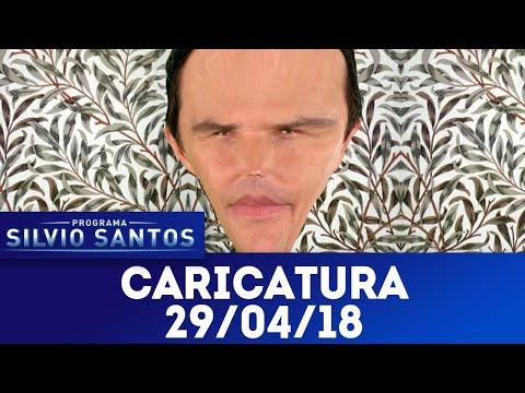 Caricaturas - Completo | Programa Silvio Santos (29/04/18)