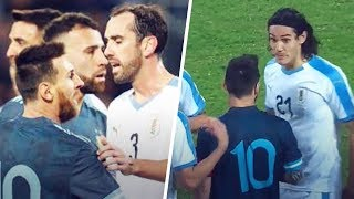 The reason why Messi wanted to fight Cavani during Argentina-Uruguay | Oh My Goal