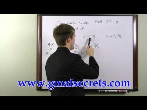 GMAT Math Problems - Free GMAT Test Prep