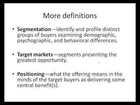 Marketing Management:  Chapter 1
