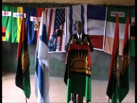 BIAFRA GOVERNMENT PRESS CONFERENCE BY BIAFRA ZIONIST MOVEMENT ON 8TH APRIL, 2013 IN ENUGU