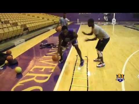 A1 Basketball Training Workout feat. Ron Curry of JMU