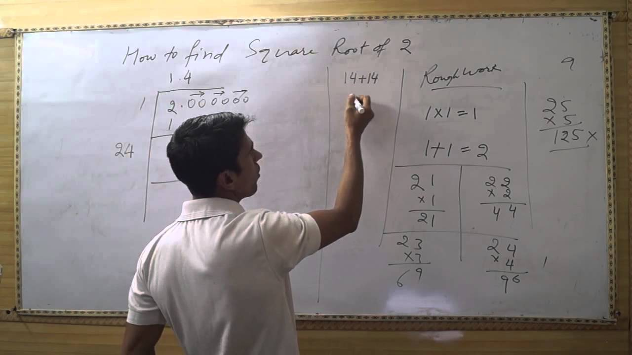 How to Find Square Root of 12