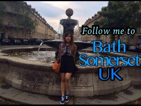 A Day Trip To Bath Somerset UK YouTube
