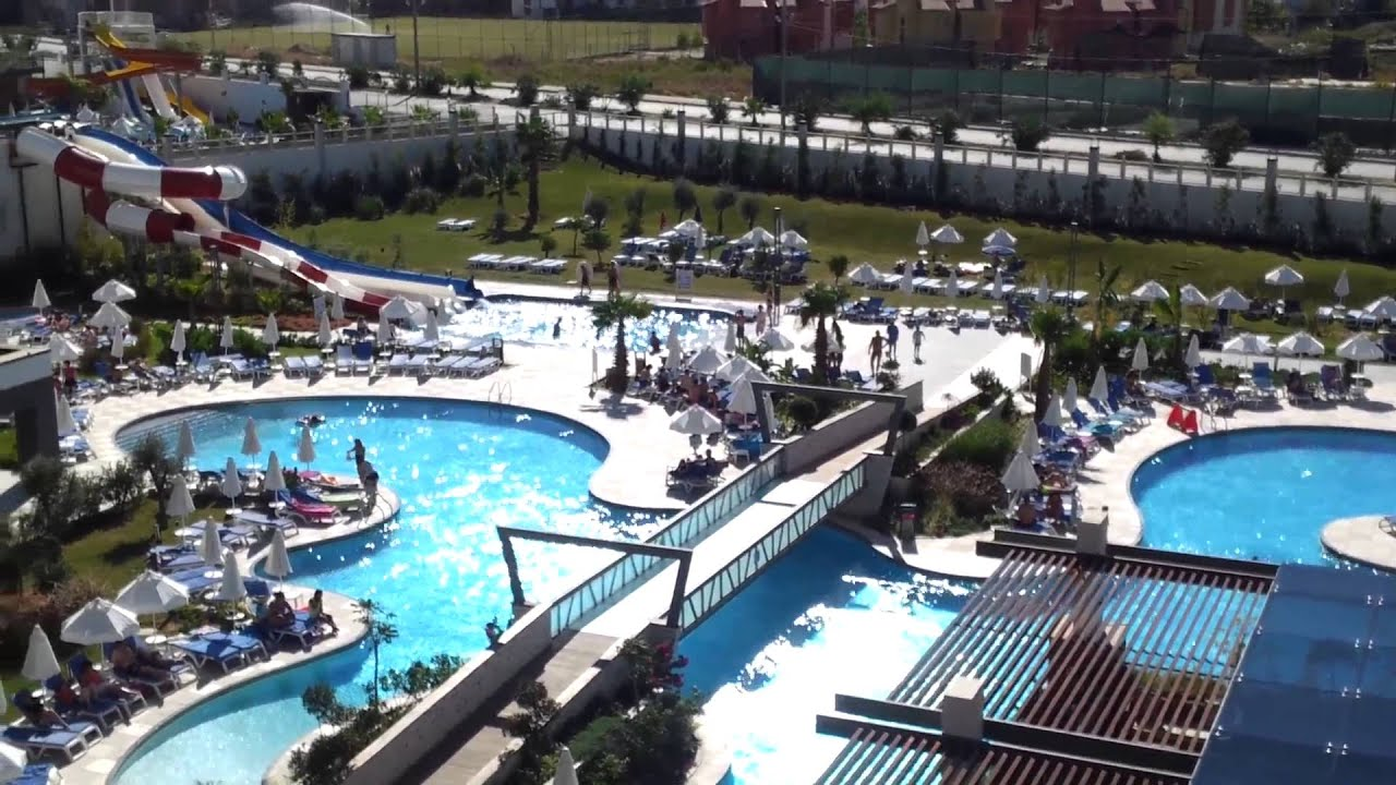Terrace elite resort zimmerausblick youtube for What is a hotel terrace