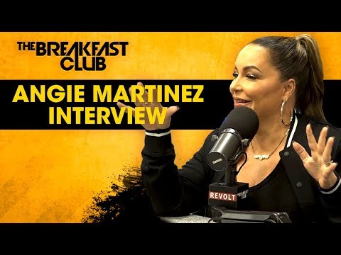 D-Strong - Angie Martinez Talks About Tupac & Snoop Beefing!
