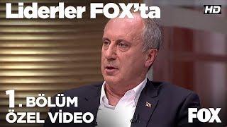 İnce genç işsizliği nasıl çözecek?  Liderler FOX'ta 1. Bölüm | Muharrem İnce