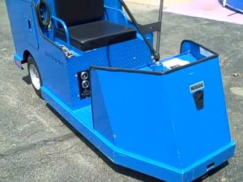 taylor dunn mx600 shop scooter like new cushman golf. Black Bedroom Furniture Sets. Home Design Ideas