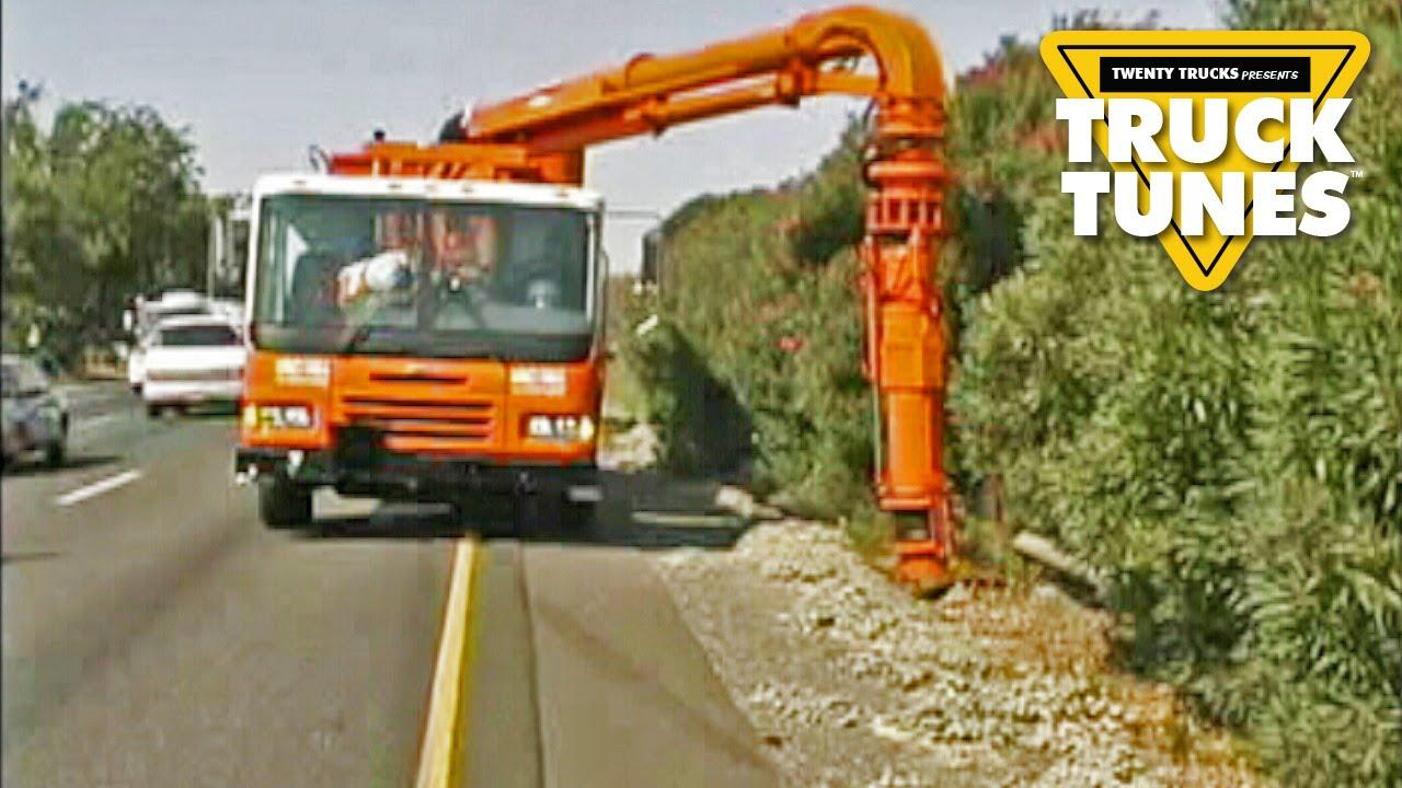 Kids Truck Video   Vacuum Truck   YouTube