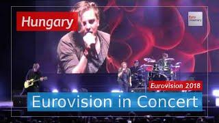 Hungary Eurovision 2018 Live: AWS - Viszlát Nyár - Eurovision in Concert - Eurovision Song Contest