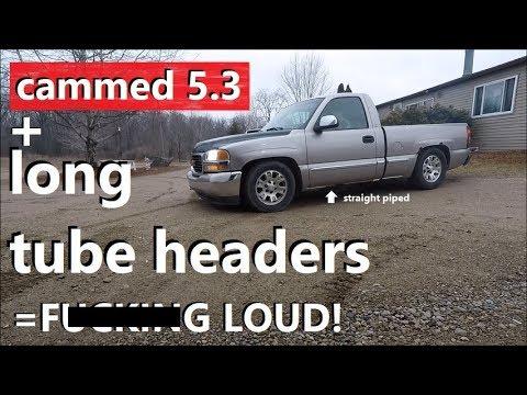4.8L, 5.3L, 6.0L, 6.2L Engines Chevy Silverado GMC Sierra Shorty Headers Truck 2007-2013