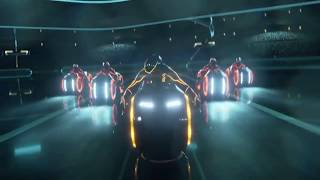 TRON SCENE POST-PRODUCTION REMAKE