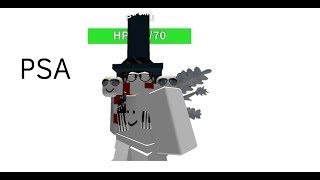 Snowman from hell - Roblox PSA gameplay/commentary
