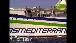 Segeltörn von Mallorca über Formentera nach Ibiza und zurück. 1997 mit SY