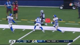 CeeDee Lamb's first NFL catch!