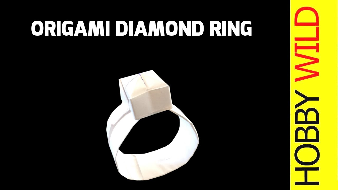 How to make a paper diamond ring origami youtube how to make a paper diamond ring origami jeuxipadfo Choice Image
