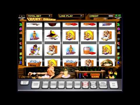 Обзор игрового автомата Черти (lucky drink) - бонусный режим, правила