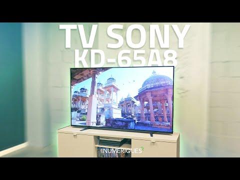 Test Téléviseur Oled Sony KD-65A8 : Une qualité d'image EXCELLENTE !