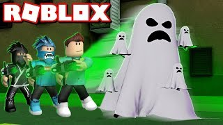 The HAUNTED HOUSE and GHOSTBUSTERS/Roblox Haunted Hunters/Roblox Turkish