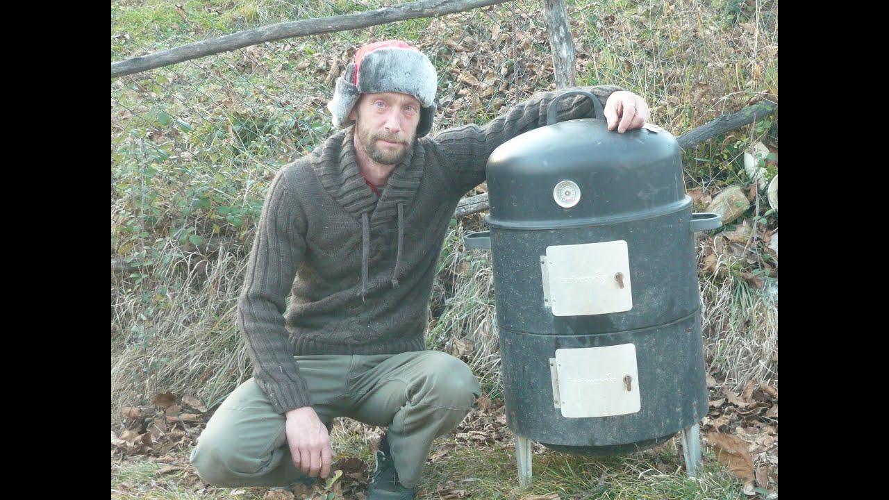 Mon fumoir poissons et viandes youtube - Fabriquer un barbecue avec un chauffe eau ...