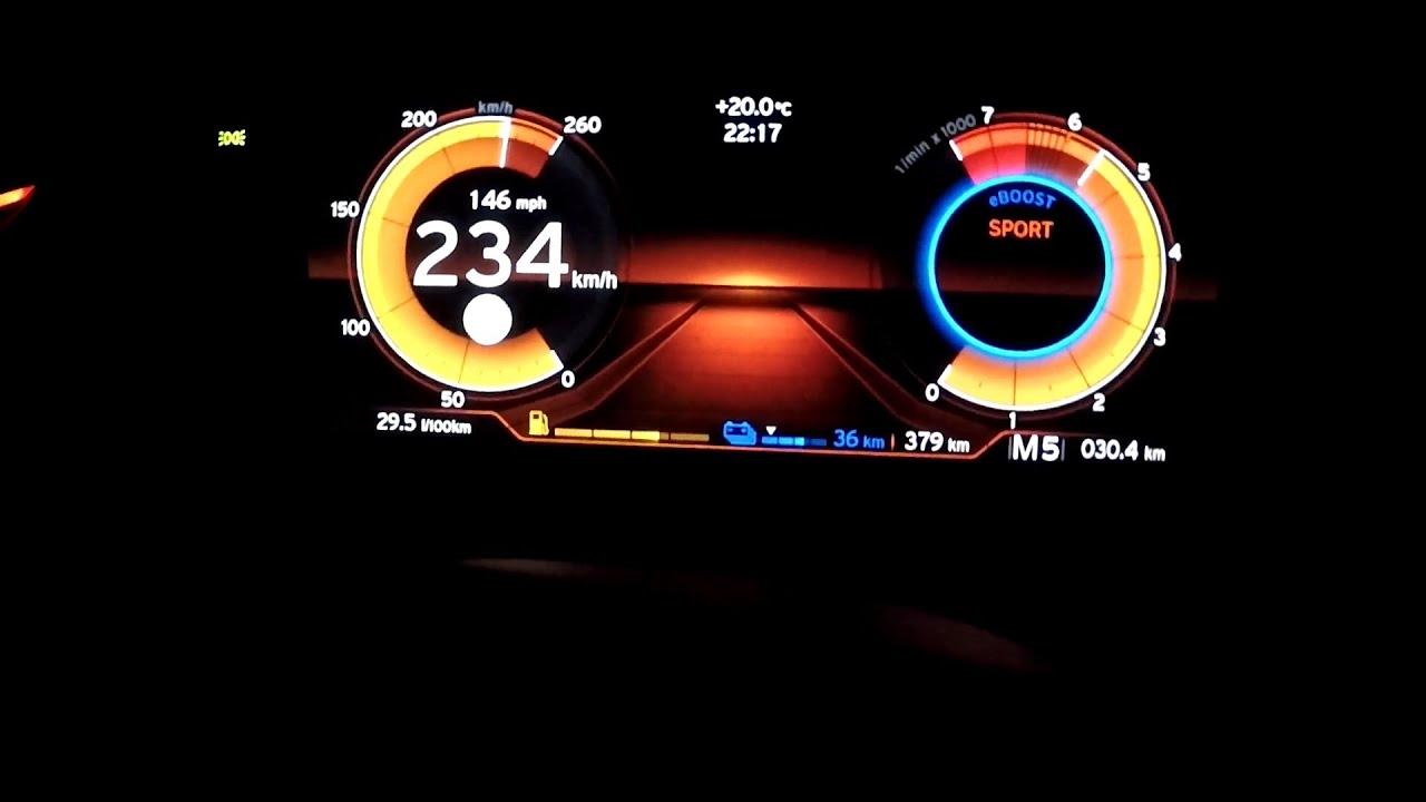 Bmw I8 Acceleration Beschleunigung Speedometer 0 100 0 200 Roadster