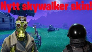 'NYTT' SKYSTALKER SKIN i Fortnite Battle Royale! Plus de 150 victoires //