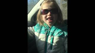 Zedd clarity lip synced by Kyla age 5
