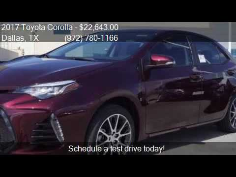 2017 toyota corolla 50th anniversary special edition 4dr sed youtube. Black Bedroom Furniture Sets. Home Design Ideas