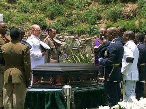 Nelson Mandela laid to rest in Qunu
