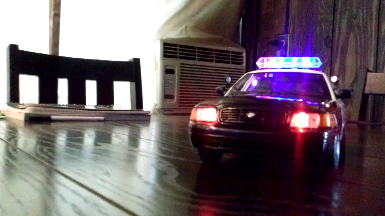 Police Car For Sale >> Chino Ca Police San Bernardino County CHP 1/18 diecast model with led lights Adam 12! - YouTube