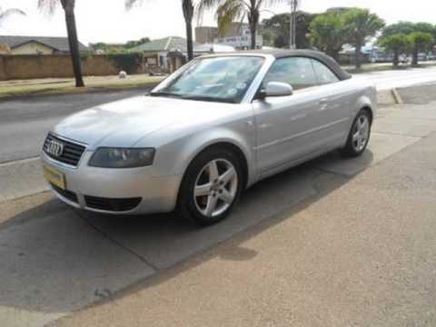 2004 audi a4 cabriolet 3 0 multitronic auto for sale on. Black Bedroom Furniture Sets. Home Design Ideas