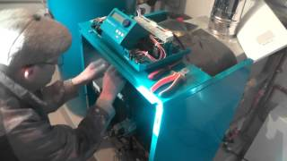 Монтаж   автоматики Logamatic 2107  котла  Buderus Logano G124 WS(Монтаж отдельной автоматики , котлов Buderus, первый раз в жизни., 2015-12-04T17:49:15.000Z)