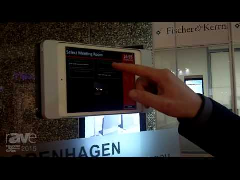 ISE 2015: Fischer&Kerrn Describes and Demos Their Concierge Booking Software